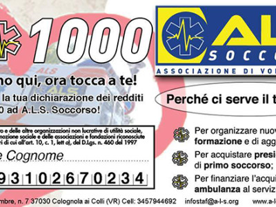 Donazione 5 x 1000