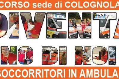 Corso Soccorritori in ambulanza 2017