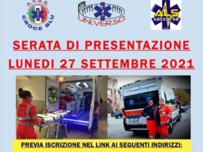 Corso aspiranti soccorritori volontariato Settembre 2021